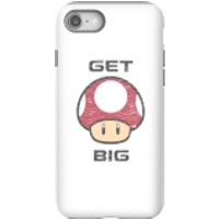 Nintendo Super Mario Get Big Mushroom Phone Case - iPhone 8 - Tough Case - Gloss - Mushroom Gifts