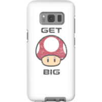 Nintendo Super Mario Get Big Mushroom Phone Case - Samsung S8 - Tough Case - Gloss - Mushroom Gifts