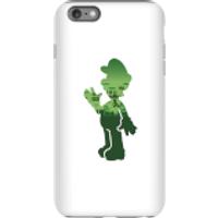 Nintendo Super Mario Luigi Silhouette Phone Case - iPhone 6 Plus - Tough Case - Gloss
