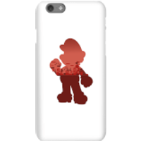 Nintendo Super Mario Mario Silhouette Phone Case - iPhone 6S - Snap Case - Matte