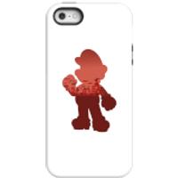 Nintendo Super Mario Mario Silhouette Phone Case - iPhone 5/5s - Tough Case - Gloss