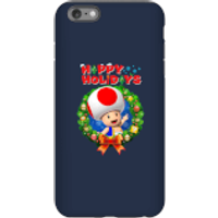 Toad Happy Holidays Phone Case for iPhone and Android - iPhone 6 Plus - Tough Case - Gloss - Happy Gifts