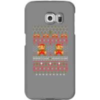 Nintendo Super Mario Mario Ho Ho Ho It's A Me Christmas Phone Case for iPhone and Android - Samsung S6 Edge Plus - Snap Case - Gloss - Christmas Gifts