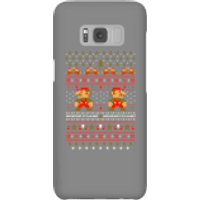 Nintendo Super Mario Mario Ho Ho Ho It's A Me Christmas Phone Case for iPhone and Android - Samsung S8 - Snap Case - Gloss - Christmas Gifts