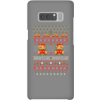 Nintendo Super Mario Mario Ho Ho Ho It's A Me Christmas Phone Case for iPhone and Android - Samsung Note 8 - Snap Case - Gloss - Christmas Gifts