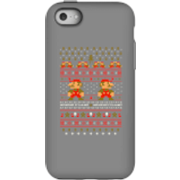 Nintendo Super Mario Mario Ho Ho Ho It's A Me Christmas Phone Case for iPhone and Android - iPhone 5C - Tough Case - Gloss - Christmas Gifts
