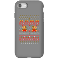 Nintendo Super Mario Mario Ho Ho Ho It's A Me Christmas Phone Case for iPhone and Android - iPhone 8 - Tough Case - Gloss - Christmas Gifts