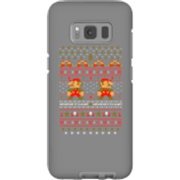 Nintendo Super Mario Mario Ho Ho Ho It's A Me Christmas Phone Case for iPhone and Android - Samsung S8 - Tough Case - Gloss - Christmas Gifts