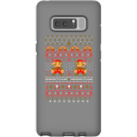 Nintendo Super Mario Mario Ho Ho Ho It's A Me Christmas Phone Case for iPhone and Android - Samsung Note 8 - Tough Case - Gloss - Christmas Gifts