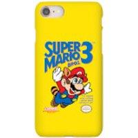 Funda móvil Nintendo Super Mario Bros 3 para iPhone y Android - iPhone 8 - Carcasa doble capa - Brillante