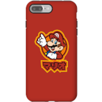 Nintendo Super Mario Mario Kanji Phone Case - iPhone 7 Plus - Tough Case - Matte