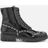 McQ-Alexander-McQueen-Womens-Bess-Derby-Boots-Black-UK-4-Black