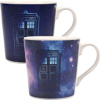 Dr Who Galaxy Heat Changing Mug - Dr Who Gifts