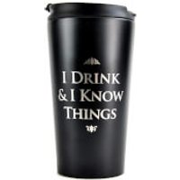 Game Of Thrones Metal Travel Mug - Game Gifts