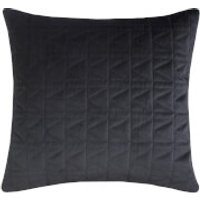 Karl Lagerfeld Quilted Cushion - Black