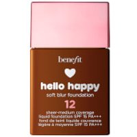 benefit Hello Happy Soft Blur Foundation (Various Shades) - 12