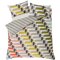Orla Kiely Dog Show Duvet Cover - Yellow - Super King