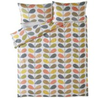 Orla Kiely Scribble Stem Duvet Cover - Multi - Single