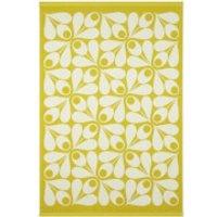 Orla Kiely Acorn Cup Towels - Dandelion (Pack of 2) - Bath Sheet