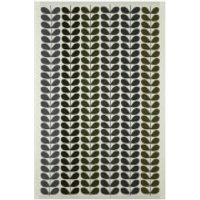 Orla Kiely Multi Stem Towels - Moss (Pack of 2) - Bath Sheet