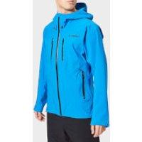 adidas Men's Terrex Parley 3L Jacket - Shock Blue - EU 36-38/S - Blue