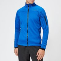 adidas Men's Terrex Stockhorn Fleece Jacket - Blue Beauty - EU 42-44 - Blue