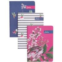 Joules Notebooks - Artichoke Floral (Set of 3)