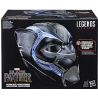 Hasbro Marvel Legends Series Black Panther 1:1 Scale Wearable Electronic Helmet - Electronic Gifts
