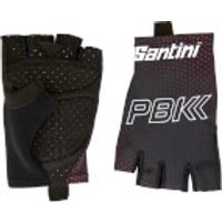 PBK Santini 19 Race Gloves - Black/Red - S