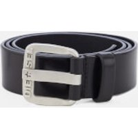 Diesel Men's B-Star Leather Belt - Black/Opac Free - S/85cm - Black