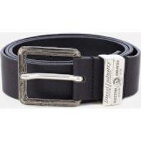 Diesel Men's Guarantee Leather Belt - Black - W40/100cm - Black