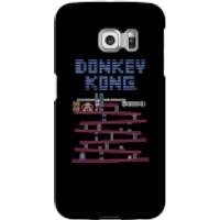 Funda móvil Donkey Kong Logo para iPhone y Android - Samsung S6 Edge - Carcasa rígida - Mate