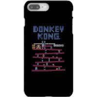 Nintendo Donkey Kong Retro Phone Case - iPhone 8 Plus - Snap Case - Gloss - Retro Gifts