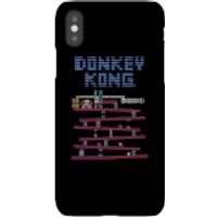 Nintendo Donkey Kong Retro Phone Case - iPhone X - Snap Case - Gloss - Retro Gifts