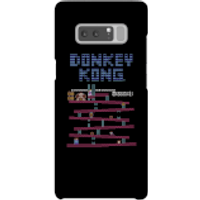 Funda móvil Donkey Kong Logo para iPhone y Android - Samsung Note 8 - Carcasa rígida - Brillante