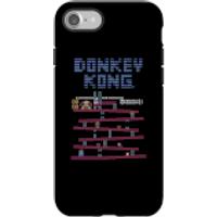 Funda móvil Donkey Kong Logo para iPhone y Android - iPhone 7 - Carcasa doble capa - Brillante