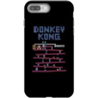 Nintendo Donkey Kong Retro Phone Case - iPhone 8 Plus - Tough Case - Gloss - Retro Gifts