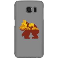 Funda móvil Donkey Kong Silueta Mangrove para iPhone y Android - Samsung S6 - Carcasa rígida - Mate