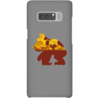 Nintendo Donkey Kong Silhouette Mangrove Phone Case - Samsung Note 8 - Snap Case - Matte