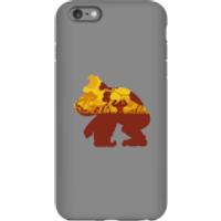 Funda móvil Donkey Kong Silueta Mangrove para iPhone y Android - iPhone 6 Plus - Carcasa doble capa - Mate