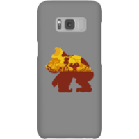 Funda móvil Donkey Kong Silueta Mangrove para iPhone y Android - Samsung S8 - Carcasa rígida - Brillante