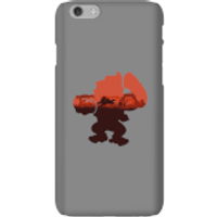 Funda móvil Donkey Kong Silueta Serengeti para iPhone y Android - iPhone 6 - Carcasa rígida - Mate