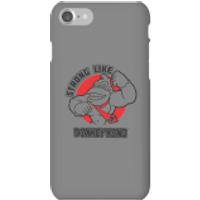 Funda móvil Donkey Kong Logo para iPhone y Android - iPhone 7 - Carcasa rígida - Mate