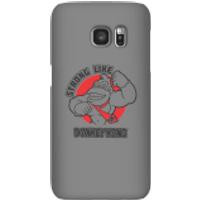 Funda móvil Donkey Kong Logo para iPhone y Android - Samsung S7 - Carcasa rígida - Mate