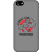 Funda móvil Donkey Kong Logo para iPhone y Android - iPhone 5C - Carcasa rígida - Brillante
