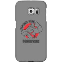 Funda móvil Donkey Kong Logo para iPhone y Android - Samsung S6 Edge - Carcasa rígida - Brillante