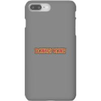 Nintendo Donkey Kong Distressed Phone Case - iPhone 8 Plus - Snap Case - Matte