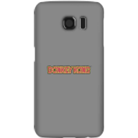 Donkey Kong Distressed Phone Case for iPhone and Android - Samsung S6 - Snap Case - Matte
