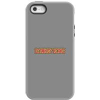 Funda móvil Donkey Kong Logo para iPhone y Android - iPhone 5/5s - Carcasa doble capa - Mate