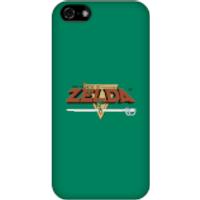 Nintendo The Legend Of Zelda Retro Logo Phone Case - iPhone 5C - Snap Case - Matte